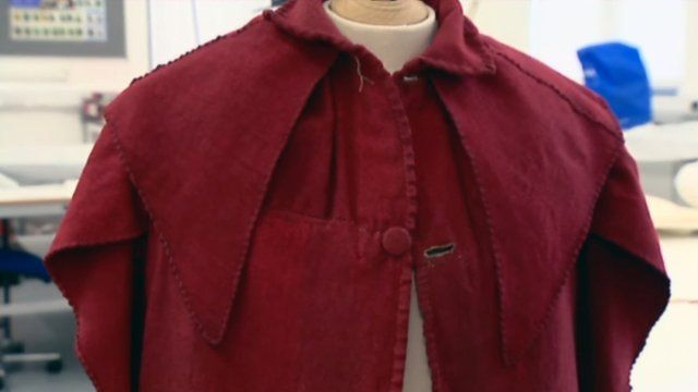 A restored 19th Century student gown