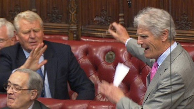 Lord Ashdown and Lord Phillips