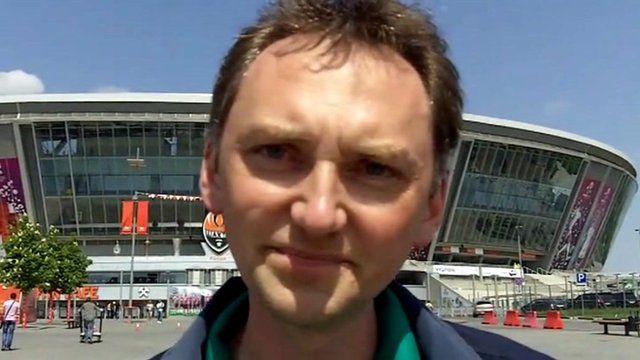 Ukrainian fan on Euro 2012 boycott