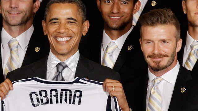 Αποτέλεσμα εικόνας για david beckham obama