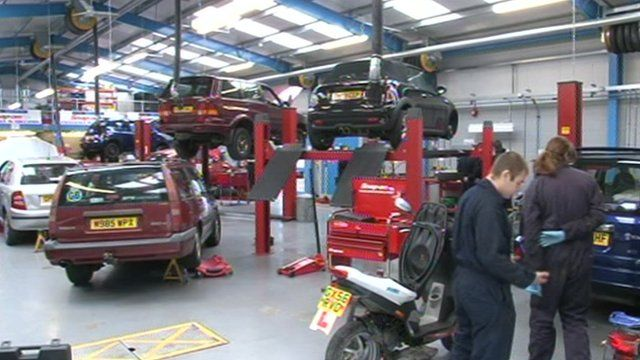 Vehicle workshop