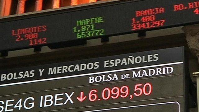 Stock exchange sign