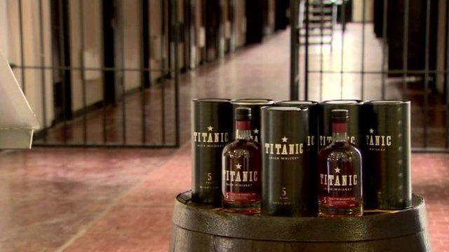 Titanic whiskey in Crumlin Road jail, Belfast