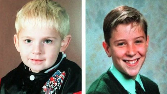 The two young boys who were killed in an IRA bomb attack in Warrington, Cheshire.