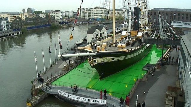 Image result for Brunel's SS Great Britain