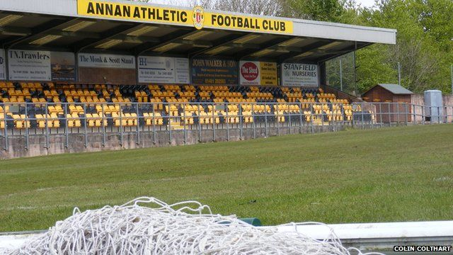 Annan Athletic ground