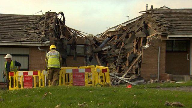 Gateshead explosion