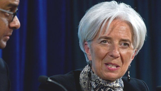 IMF chief Christine Lagarde (photo by AFP)