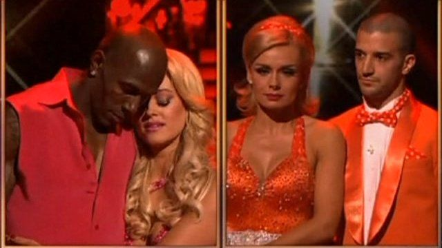 The finalists on Dancing with the Stars