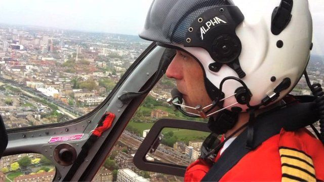 Inside London's air ambulance