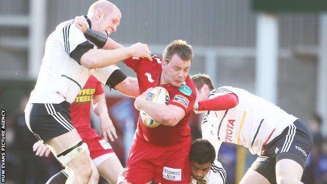 Scarlets v Munster
