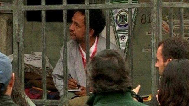 Chilean actor Luis Dubo in prison