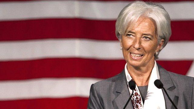 Head of the International Monetary Fund, Christine Lagarde