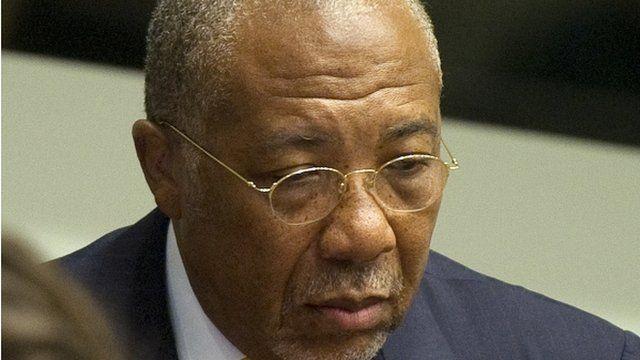 Liberia's ex-President Charles Taylor