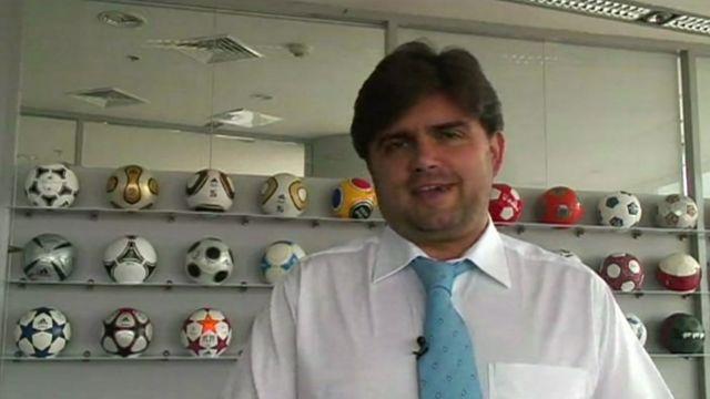 Ukraine's Euro 2012 Director, Markian Lubkivsky