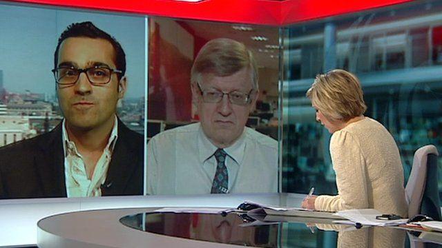 Dr Tom Frewin and Dr Tariq Hussain