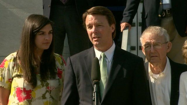 John Edwards in Greensboro, North Carolina 31 May 2012