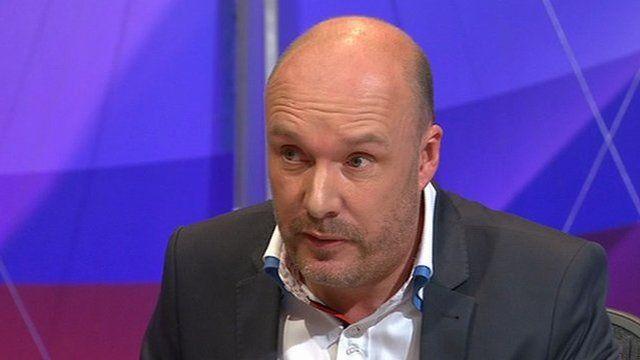 Mark Oaten on Question Time