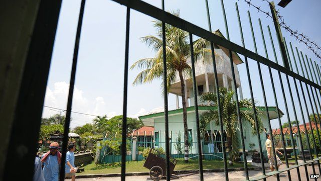 The Bali Nine are housed in the maximum security block seen here at Kerobokan Prison