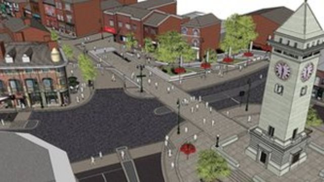 Leek roundabout changes: Crossing to be kept