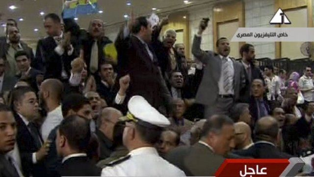 Egyptians reacting to Mubarak verdict