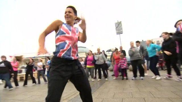 Zumba dance challenge in Ramsgate