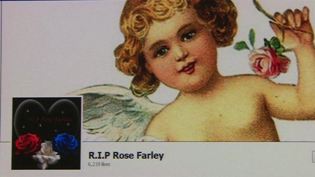 Facebook tribute page