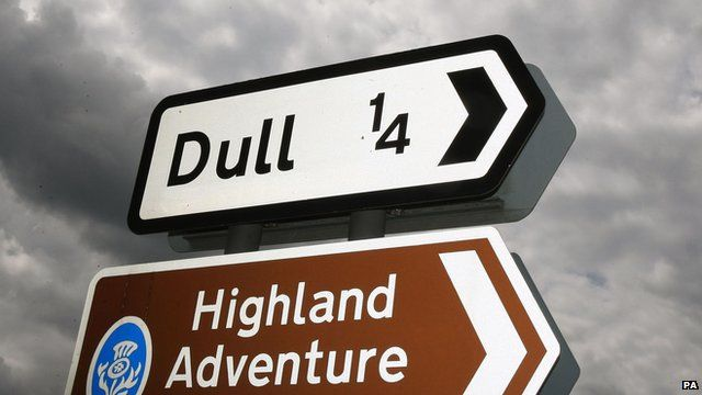 Signpost to Dull