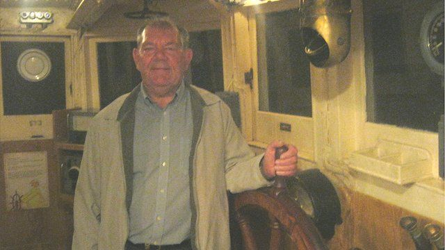 Dennis Avery, pictured at the National Fishing Heritage Museum in Grimsby