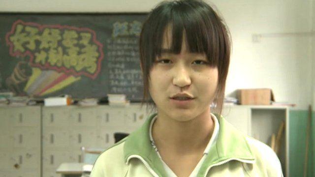 Student Wang Yu