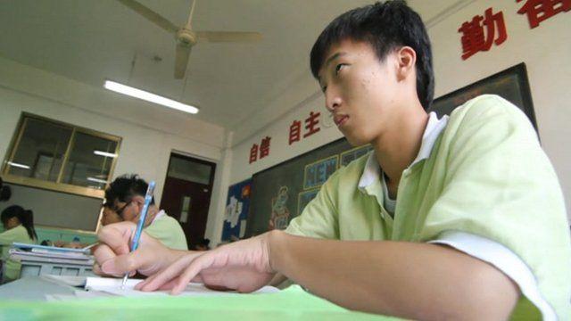 Student Ding Zhenwei