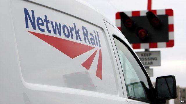 Network Rail van