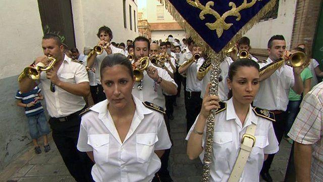 La Pasion Sevilla brass band