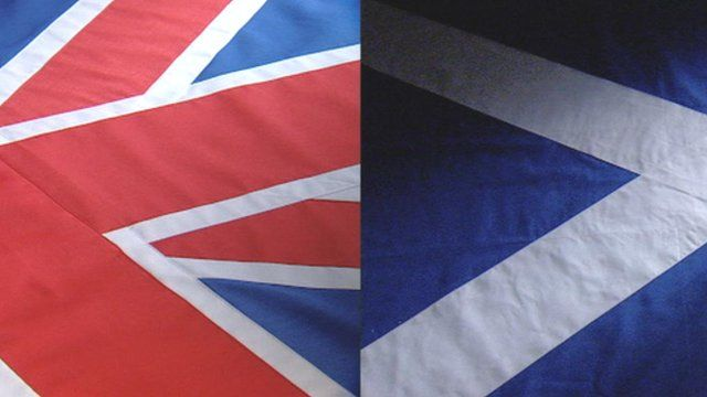 The Union and saltire flag