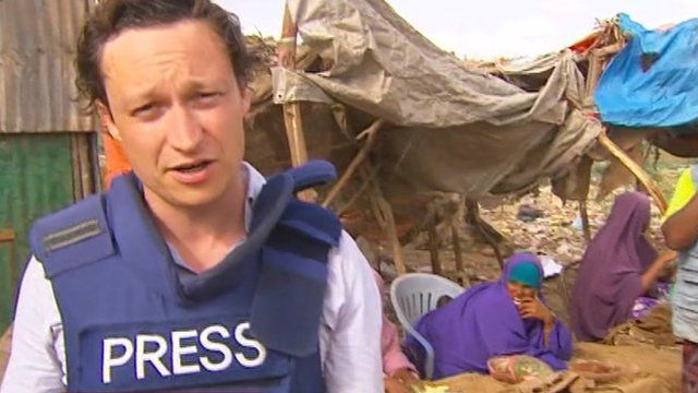 The BBC's Gabriel Gatehouse reports from Mogadishu