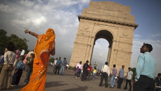 India Gate, in New Delhi