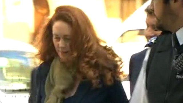 Ex-News International chief executive Rebekah Brooks