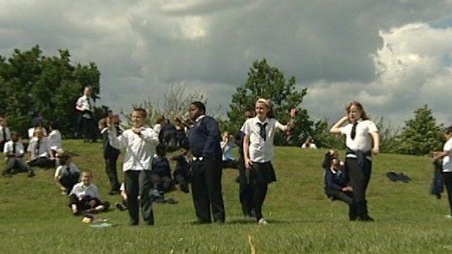Pegasus Primary School children stage Olympics