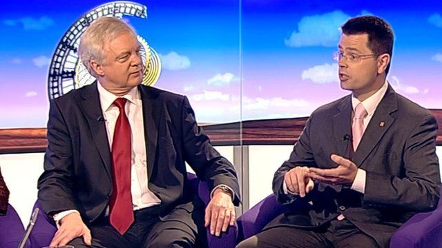 David Davis and James Brokenshire