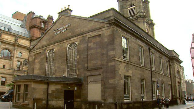 St George's Tron Church in Glasgow