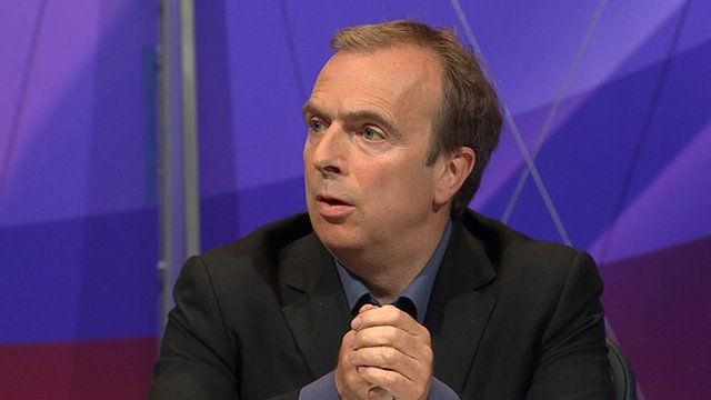 Peter Hitchens on Question Time