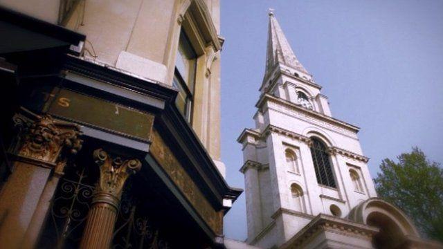 Buildings in Whitechapel