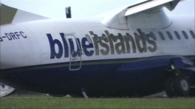 Blue Islands plane crash, Jersey, 16 June 2012