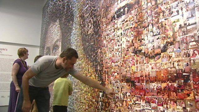 The BBC South East Diamond Jubilee mosaic