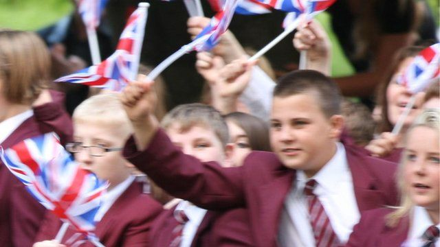 Students from Selby High