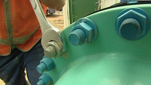 Grafham Water pump