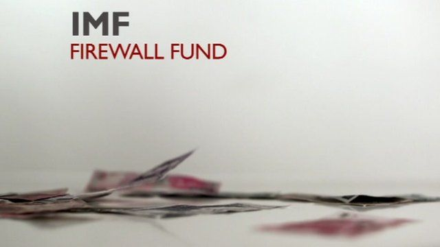 The graphics of IMF firewall fund