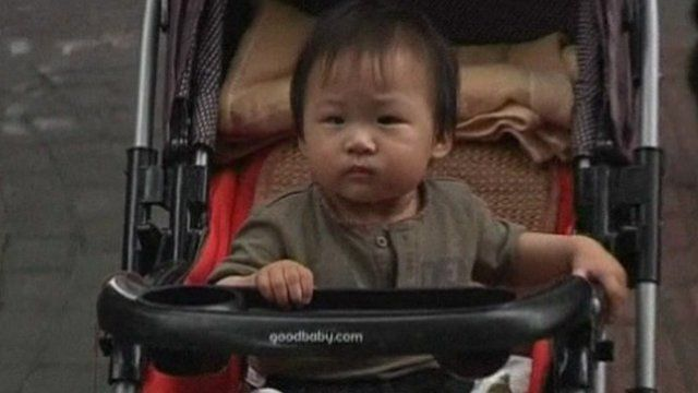 A Chinese baby