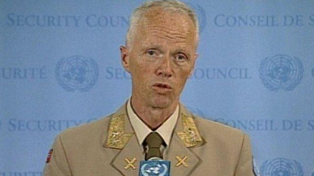 Maj Gen Robert Mood