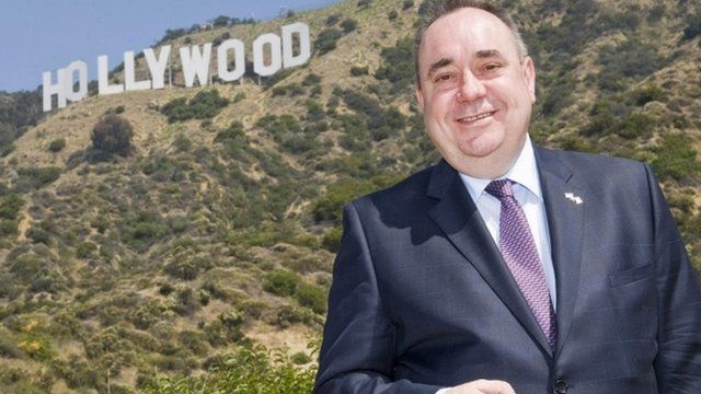 First Minister Alex Salmond in California